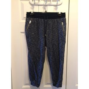 Gap Fit Cropped Gray Joggers